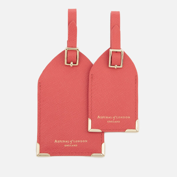 Aspinal of London Women's Set of Two Luggage Tags - Dahlia
