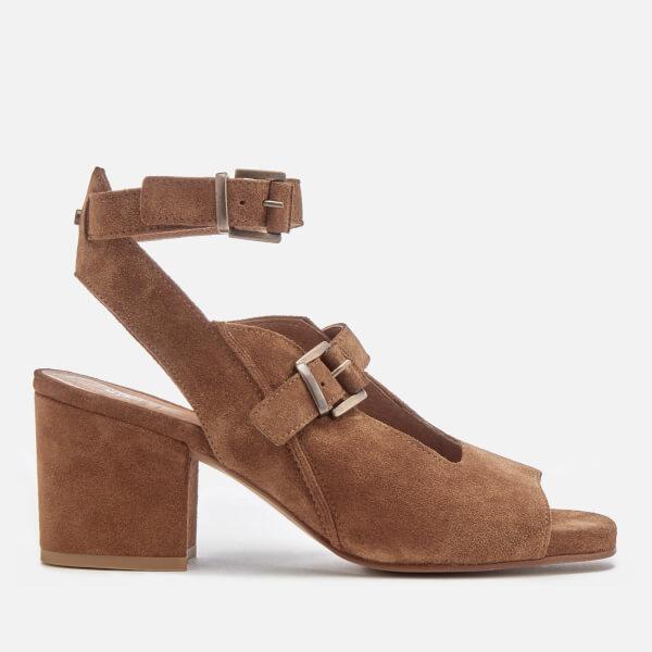 Hudson London Women's Rona Suede Heeled Sandals - Tan
