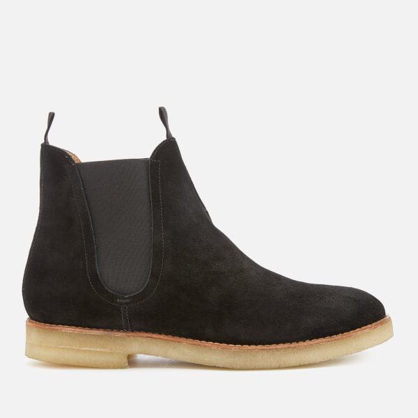 Hudson London Men's Sandgate Suede Chelsea Boots - Black