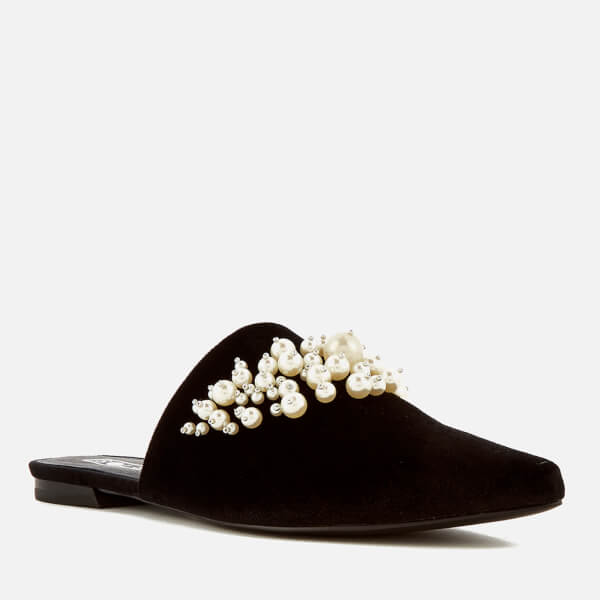 Discounts Cheap Price Extremely Cheap Price Sol Sana Women's Grace Velvet Pointed Flats - Pearl - UK 3 Latest Cheap Online Outlet With Credit Card Buy Cheap Latest Collections qiQEFQiQpG