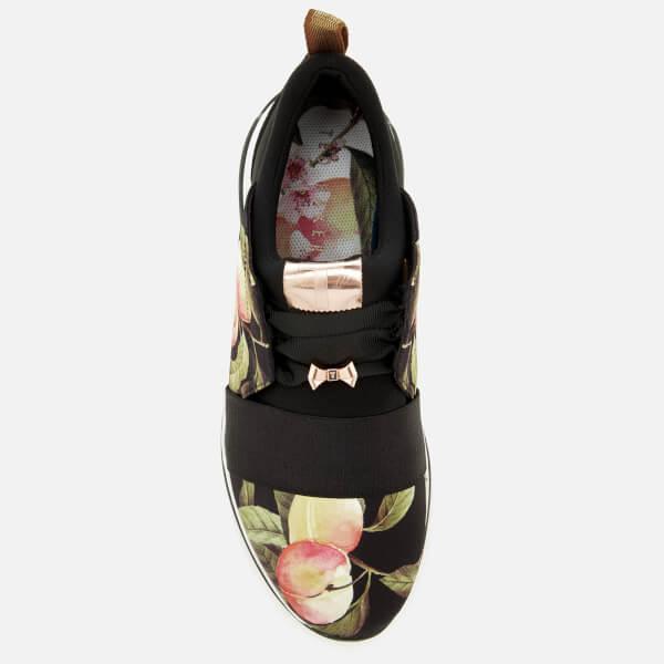 ede06d251b0d Ted Baker Women s Cepap Runner Trainers - Peach Blossom Black  Image 3
