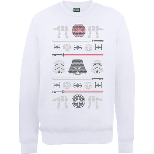 Star Wars Imperial Knit White Christmas Sweatshirt