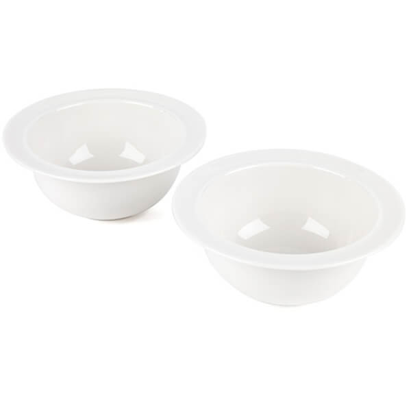 Alessi La Bella Soup Bowls - White (Set of 2)