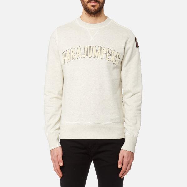 Parajumpers Men's Caleb Sweatshirt - White Melange: Image 1
