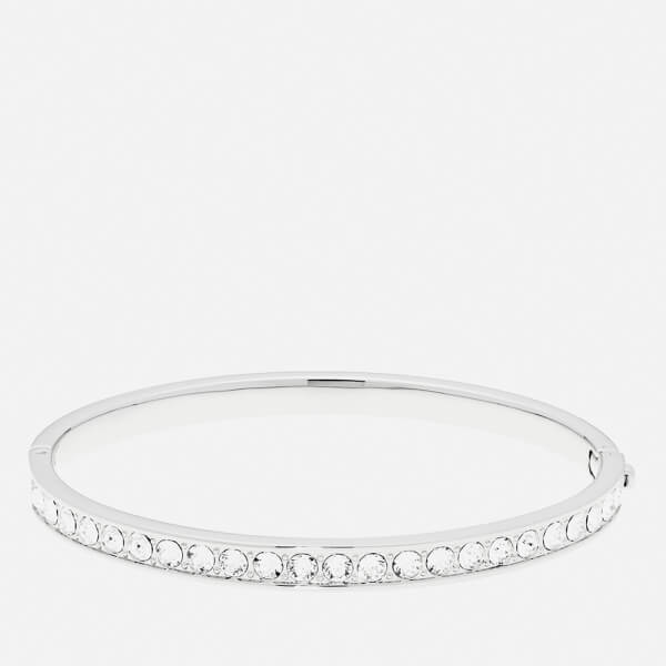 Ted Baker Women's Clemara Hinge Crystal Bangle - Silver/Crystal