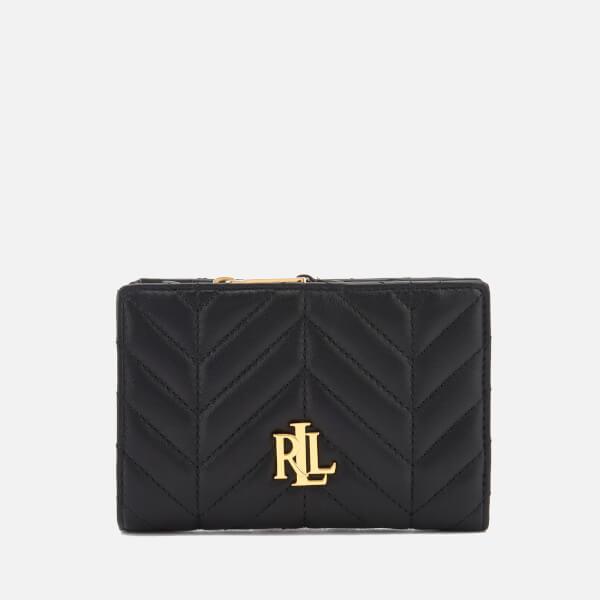 Lauren Ralph Lauren Women's Carrington New Compact Wallet - Black