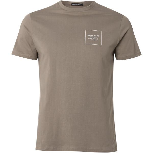 Friend or Faux Men's Midas T-Shirt - Grey