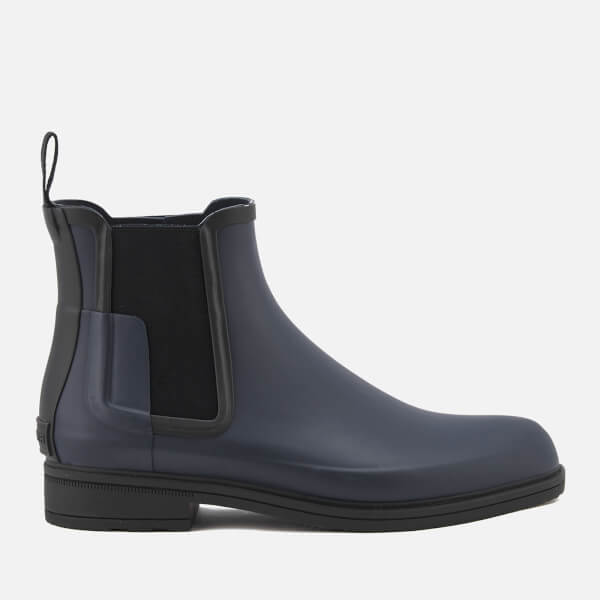 c9167179905c Hunter Men s Original Refined Chelsea Boots - Navy Black Clothing ...