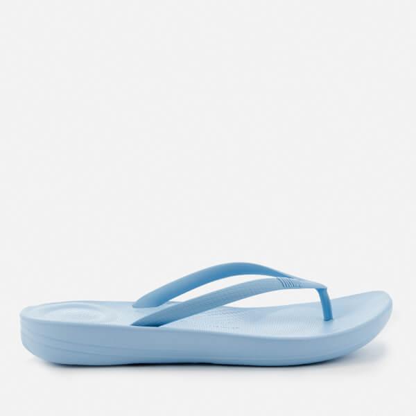 1eda0e423 FitFlop Women s iQushion Ergonomic Flip Flops - Powder Blue  Image 2