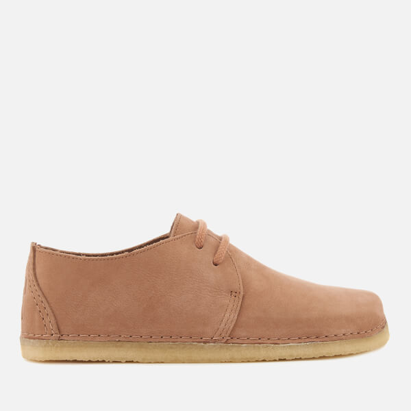 Clarks Originals Women's Ashton Nubuck Derby Shoes - Sandstone