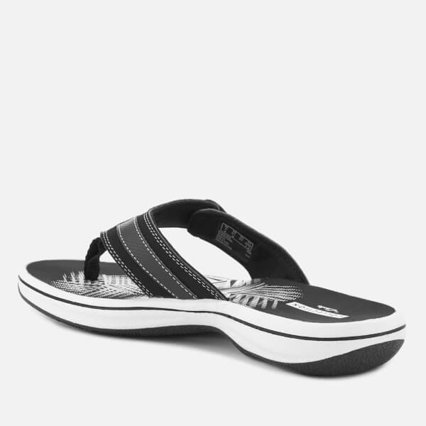 2f2a2c64d226 Clarks Women s Brinkley Sea Toe Post Sandals - Black  Image 2