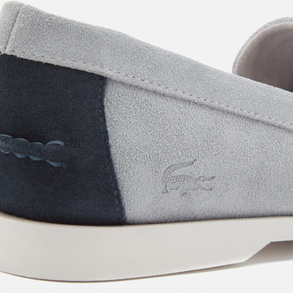 32d86a0c4 Lacoste Men s Navire Penny 216 Suede Loafers - Grey  Image 6
