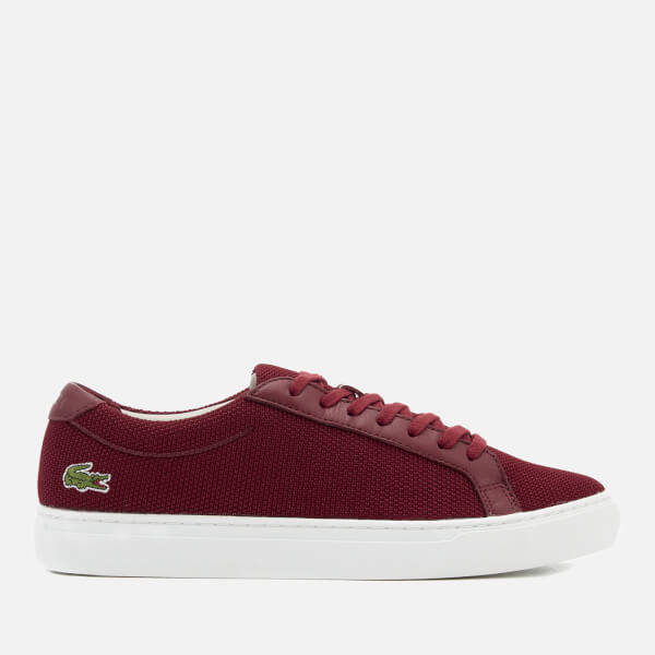 Lacoste Men's L.12.12 117 Trainers - Dark Red