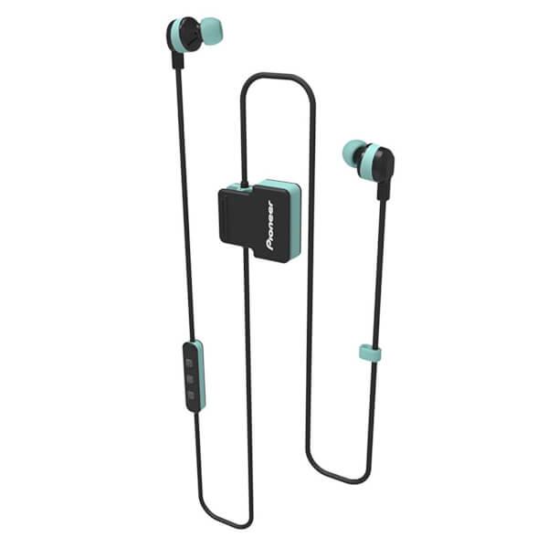 Pioneer SE-CL5BT-GR Wireless Bluetooth Earphones - Green