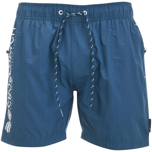 Crosshatch Men's Kavana Swim Shorts - Estate Blue