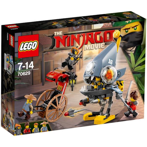 The LEGO Ninjago Movie: Piranha Attack (70629) Toys | Zavvi