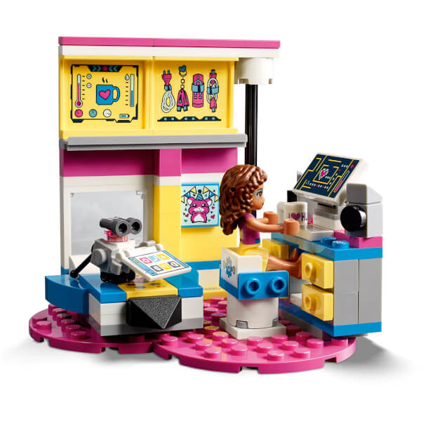 Lego Friends Olivia S Deluxe Bedroom 41329 Toys Zavvi