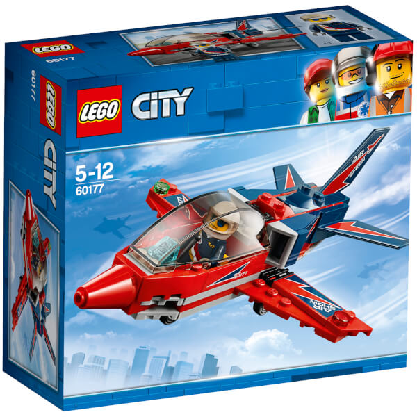 Jet Privato Lego City : Lego city great vehicles airshow jet toys