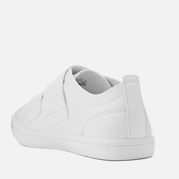 f69b2b45728ddb Lacoste Women s Straightset Strap 118 1 Leather Cupsole Trainers - White   Image 2