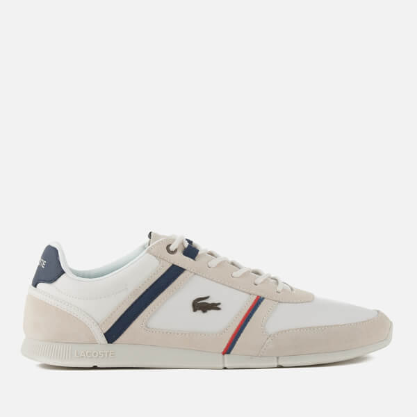 Lacoste Men's Menerva 118 1 Trainers - Off White/Navy