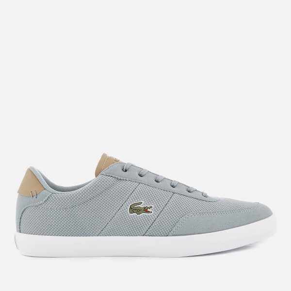Lacoste Men's Court Master 118 1 Trainers - Grey/Light Tan