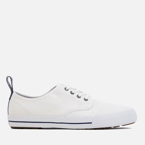 Dr. Martens Men's Pressler Canvas Lace Shoes - White