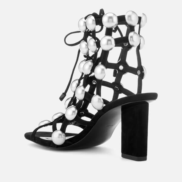 Alexander Wang Women's Rainey Mid Heel Stud Sandals - - EU 36/UK 3 qNHlq7O