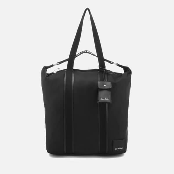 Calvin Klein Women's Fluid Large Shopper Bag - Black