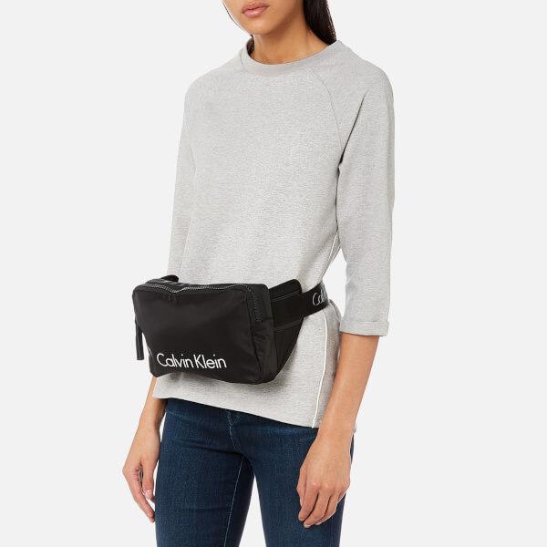 316c3bcf11cd Calvin Klein Women s Blithe Urban Cross Body Waist Belt Bag - Black  Image 4