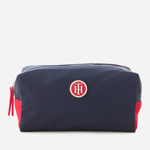e9e1919e7ed Tommy Hilfiger Women's Chic Nylon Wash Bag - Navy: Image 1
