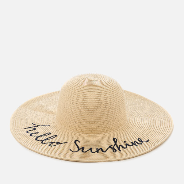 bcdc1f8603dff Joules Women s Hello Sunshine Sun Hat - Natural  Image 1