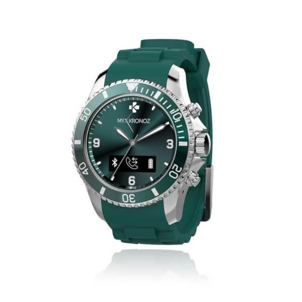 MyKronoz Zeclock Bluetooth Smart Watch - Green