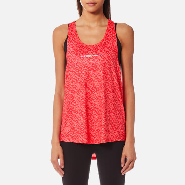 Superdry Women's Sport Work Out Vest - Shocking Red