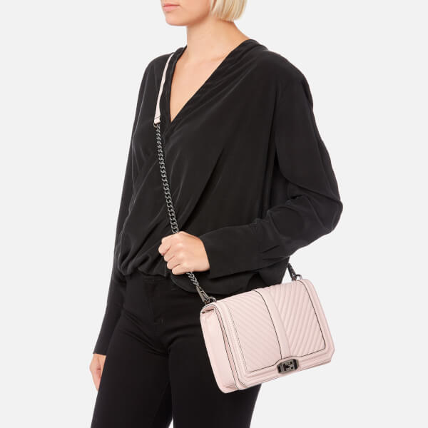 Cheap Sale Outlet Clearance Outlet Locations Chevron Quilted Slim Love Cross Body Bag Rebecca Minkoff Real Low Price Fee Shipping Sale Online Clearance Outlet H5YwqgXgc