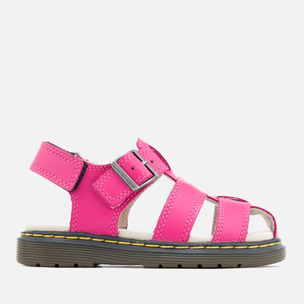 Dr. Martens Kids' Sailor Lamper Sandals - Hot Pink