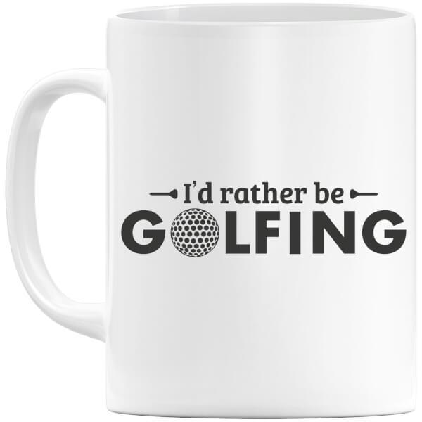 Id rather be Golfing Mug