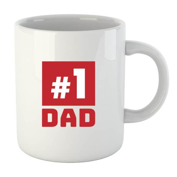 Number 1 Dad Mug