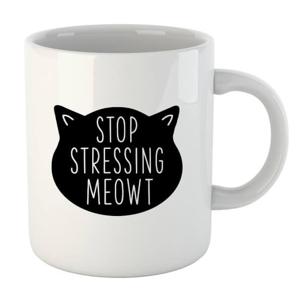 Stop Stressing Meowt Mug