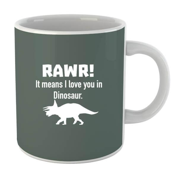 RAWR! It Means I Love You (white) Mug