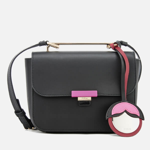 Furla Women's Elisir Mini Cross Body Bag - Black