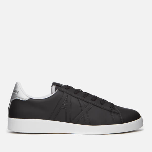 Armani Exchange Men's Low Top Trainers - Nero