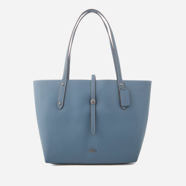 Coach Women's Market Tote Bag - Dark Denim