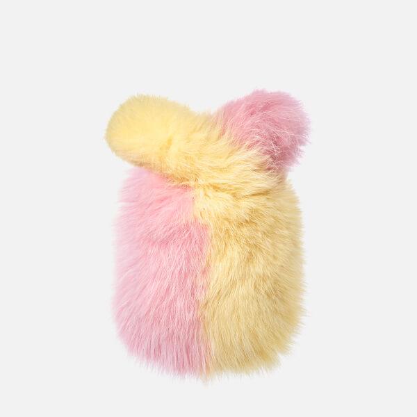 Charlotte Simone Women's Lil Pop Bag - Lemon Yellow/Pastel Pink