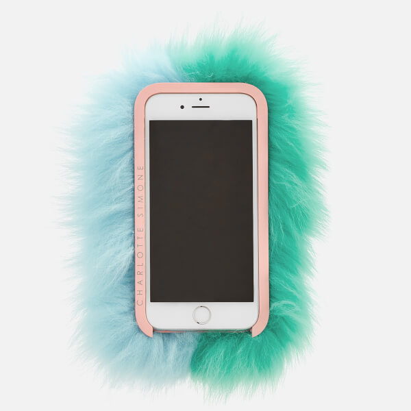 Charlotte Simone Women S Phone Fluff Iphone Case Mint