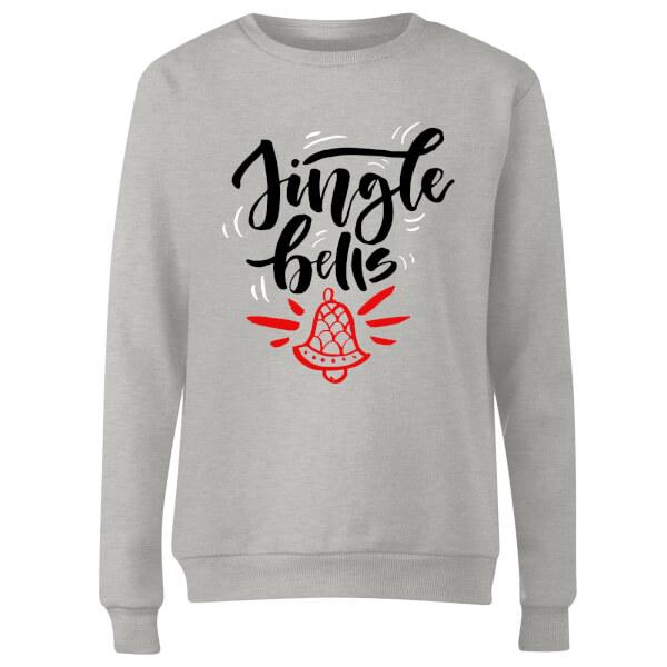 jingle Bells Women's Sweatshirt - Grey