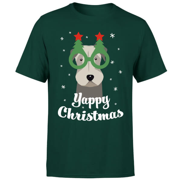 Yappy Christmas T-Shirt - Forest Green