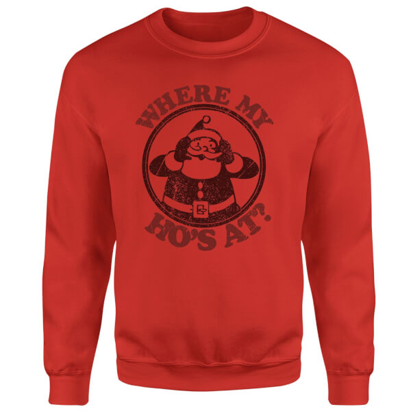 Where My Ho's At Sweatshirt - Red