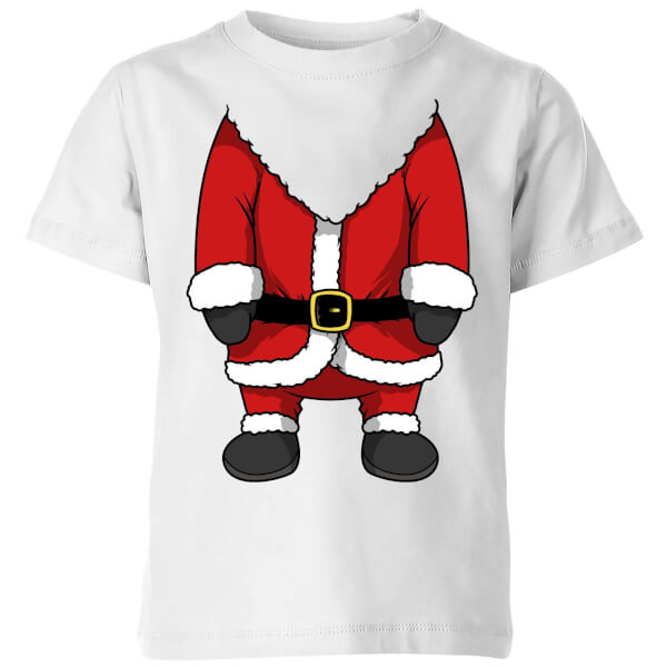 Santa Kids' T-Shirt - White