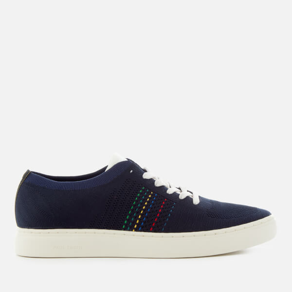 PS Paul Smith Men's Doyle Knitted Cupsole Trainers - Dark Navy