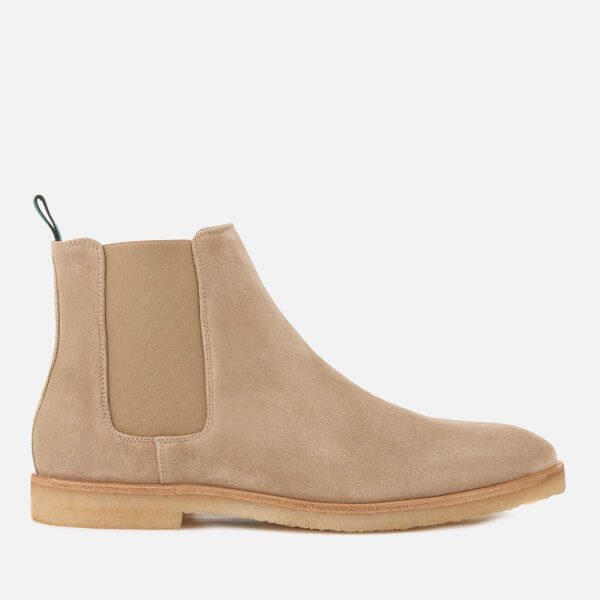 PS by Paul Smith Men's Andy Suede Chelsea Boots - Taupe